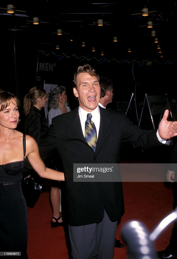 Jennifer Grey And Patrick Swayze During 10th Anniversary Of Dirty