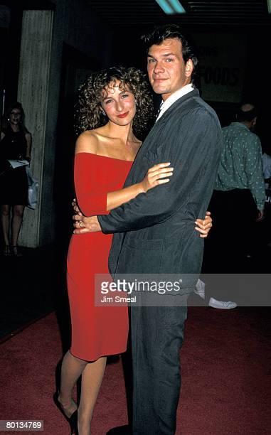 Jennifer Grey and Patrick Swayze