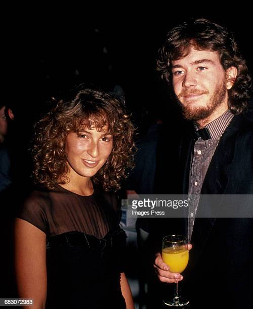 Jennifer Grey and Timothy Hutton circa 1982 in New York City