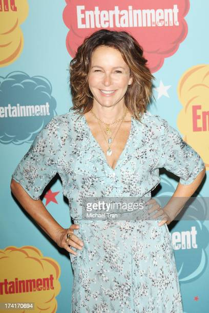 Jennifer Grey arrives at the Entertainment Weekly's Annual ComicCon celebration held at Float at Hard Rock Hotel San Diego on July 20 2013 in San...