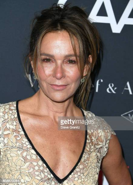 Jennifer Grey arrives at the LA Dance Project's Annual Gala at LA Dance Project on October 7 2017 in Los Angeles California