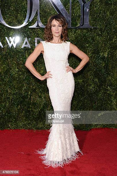 Jennifer Grey attends American Theatre Wing's 69th Annual Tony Awards at Radio City Music Hall on June 7 2015 in New York City