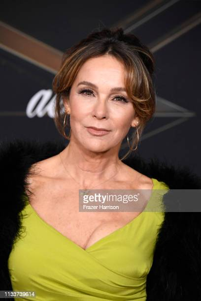 Jennifer Grey attends Marvel Studios Captain Marvel Premiere on March 04 2019 in Hollywood California