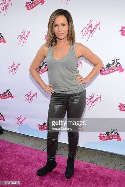 Jennifer Grey attends the 25th anniversary of Lionsgate's 'Dirty Dancing' at Grauman's Chinese Theatre on August 21 2012 in Hollywood California