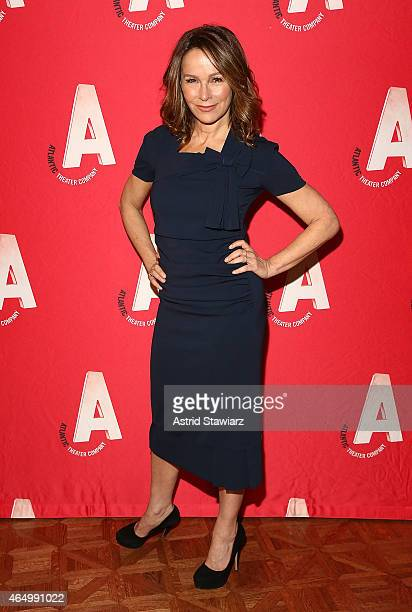Jennifer Grey attends the Atlantic Theater Company 30th Anniversary Gala at The Pierre Hotel on March 2 2015 in New York City