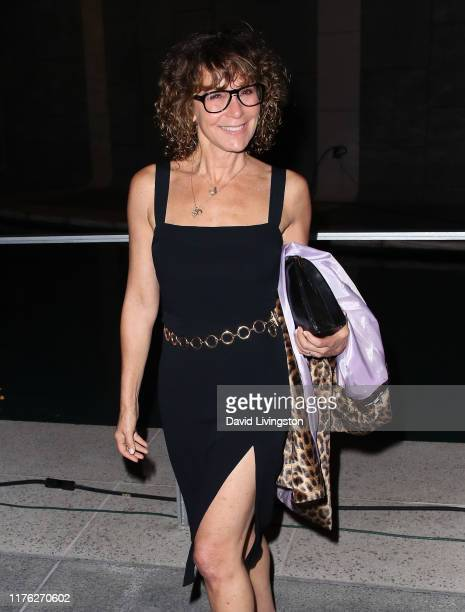 """Jennifer Grey attends the Center Theatre Group's """"A Play Is a Poem"""" opening night performance at Mark Taper Forum on September 21, 2019 in Los..."""