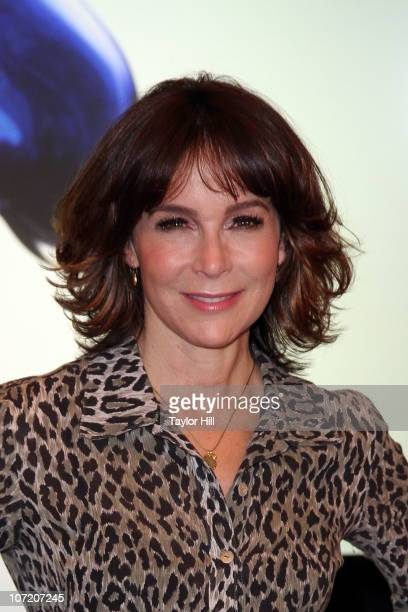 Jennifer Grey attends the Launch of Disney's Epic Mickey at Disney Store on November 30 2010 in New York City