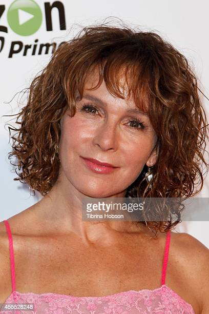 Jennifer Grey attends the premiere of Amazon Studios' 'Transparent' at Ace Hotel on September 15 2014 in Los Angeles California