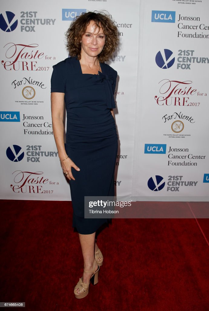 Jennifer Grey attends UCLA's Johnsson Center 22nd annual 'Taste For A Cure' event at the Beverly Wilshire Four Seasons Hotel on April 28, 2017 in Beverly Hills, California.