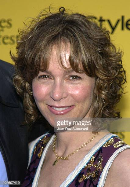 Jennifer Grey during 2002 IFP/West Los Angeles Film Festival Opening Night at Arclight Cinerama in Hollywood California United States