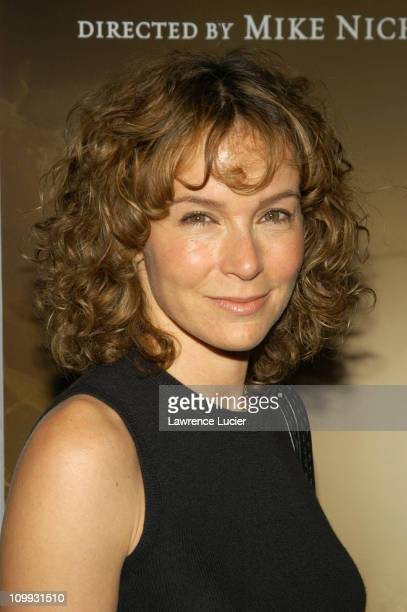 Jennifer Grey during Angels In America New York Premiere at Ziegfeld Theater in New York City New York United States