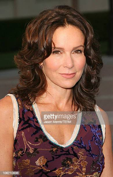 Jennifer Grey during Los Angeles Premiere of the HBO Original Series 'John From Cincinnati' Arrivals at Paramount Theater in Hollywood California...