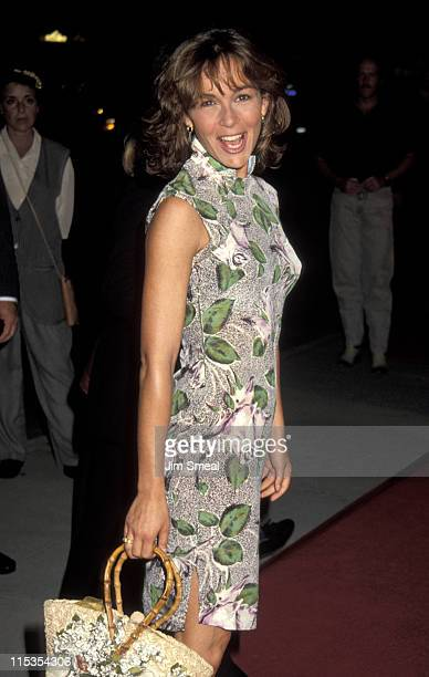 Jennifer Grey during Wind Benefit Premiere at Academy Theater in Beverly Hills California United States