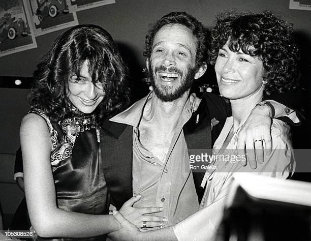 Jennifer Grey Joel Grey and Wife during 'The Grand Tour' Opening Party at Ziegfield Restaurant in New York City New York United States