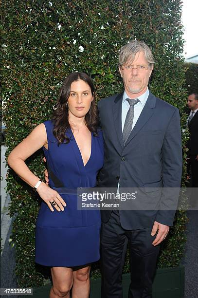 Jennifer Guidi and artist Mark Grotjahn attend the 2015 MOCA Gala presented by Louis Vuitton at The Geffen Contemporary at MOCA on May 30 2015 in Los...