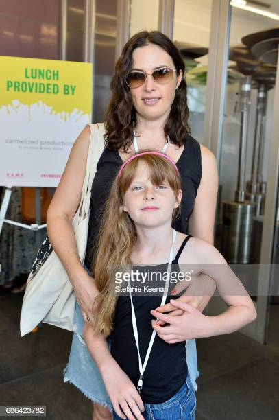 Jennifer Guidi and Maddie Grotjahn attend Hammer Museum KAMP 2017 on May 21 2017 in Los Angeles California