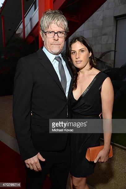 Jennifer Guidi and Mark Grotjahn attend LACMA's 50th Anniversary Gala sponsored by Christie's at LACMA on April 18 2015 in Los Angeles California