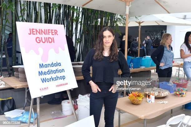 Jennifer Guidi attends Hammer Museum KAMP 2018 at Hammer Museum on May 20 2018 in Los Angeles California