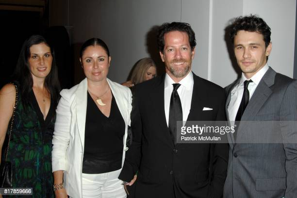 """Jennifer Guidi Maria Blum Tim Blum and James Franco attend LACMA Presents """"The UnMasking"""" – The Lynda and Stewart Resnick Exhibition Pavilion Opening..."""