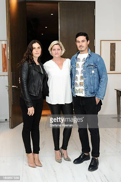 Jennifer Guidi Sarah Watson and Jon Guidi attends Barneys New York Rosette Delug And The Hammer Museum Celebrate Chitose Abe Of Sacai In Beverly...