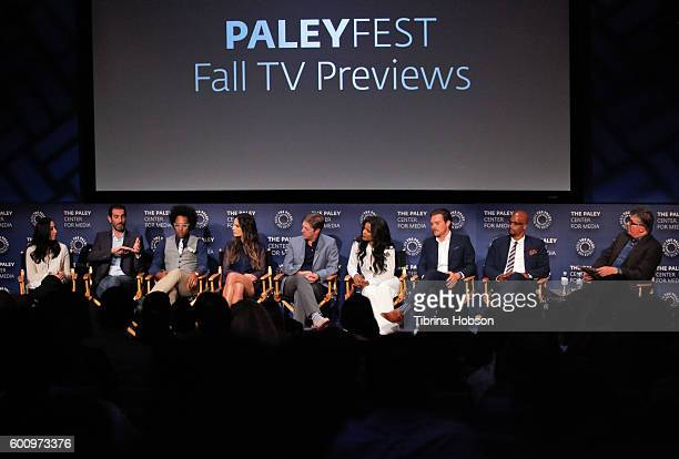 Jennifer Gwartz Matthew Miller Johnathan Fernandez Jordana Brewster Kevin Rahm Keesha Sharp Clayne Crawford Damon Wayans attend The Paley Center for...