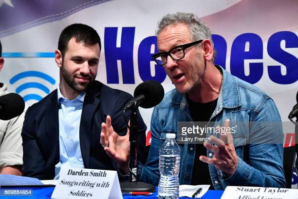 Jennifer Hammond hosts Healing Our Heroes with Darden Smith of Songwriting with Soldiers Sean Gobin of Warrior Expectations Joseph Simons of Guitars...