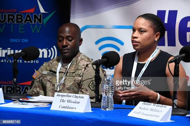 Jennifer Hammond hosts Healing Our Heroes, with Jacqueline Clayton of The Mission Continues , Jason Hanna of C.A.M.M.O. , Jamie Winslow of Salute...
