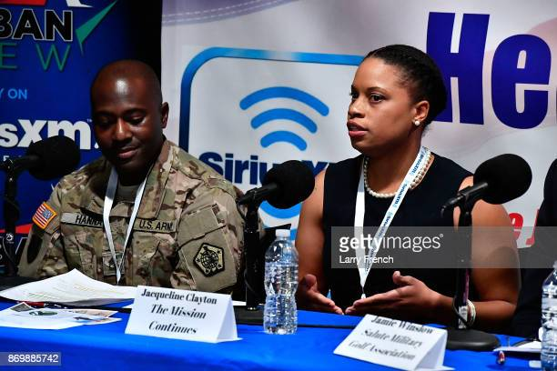 Jennifer Hammond hosts Healing Our Heroes with Jacqueline Clayton of The Mission Continues Jason Hanna of CAMMO Jamie Winslow of Salute Military Golf...