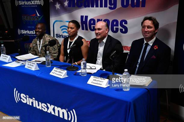 Jennifer Hammond hosts Healing Our Heroes with Jason Hanna of CAMMO Jacqueline Clayton of The Mission Continues Jamie Winslow of Salute Military Golf...