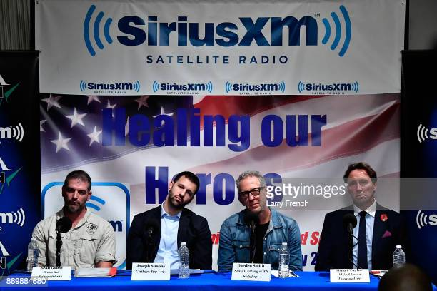 Jennifer Hammond hosts Healing Our Heroes with Sean Gobin of Warrior Expectations Joseph Simons of Guitars for Vets Darden Smith of Songwriting with...