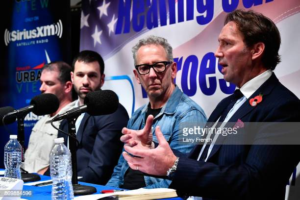 Jennifer Hammond hosts Healing Our Heroes with Stuart Taylor of the Allied Force Foundation Sean Gobin of Warrior Expectations Joseph Simons of...