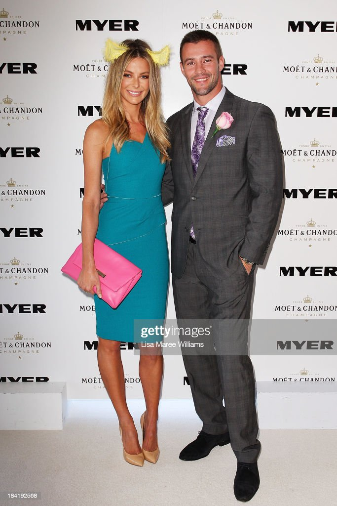 Jennifer Hawkins Headlines Myer Fashions On The Field Randwick