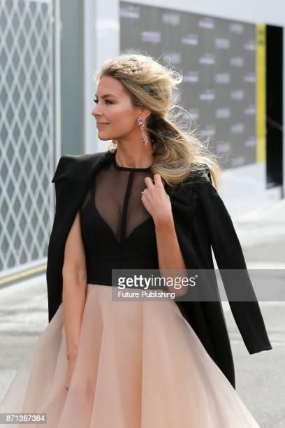 Jennifer Hawkins arrives at the Melbourne Cup CarnivalPHOTOGRAPH BY Chris Putnam / Barcroft Images 44 207 033 1031 Ehello@barcroftmediacom New YorkT1...