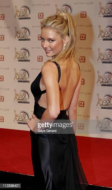 Jennifer Hawkins during 2006 TV Week Logie Awards Arrivals at Crown Casino in Melbourne VIC Australia