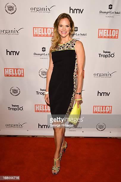 Jennifer Hedger arrives at Hello Canada gala celebrating Canada's 50 most beautifulÊ at ShangriLa Hotel on May 9 2013 in Toronto Canada