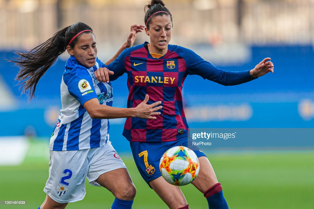 FC Barcelona v Sporting Huelva - Primera Division Women : News Photo