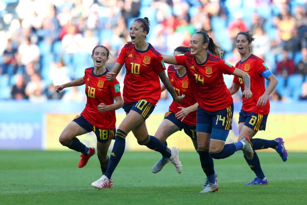 FRA: Spain v South Africa: Group B - 2019 FIFA Women's World Cup France