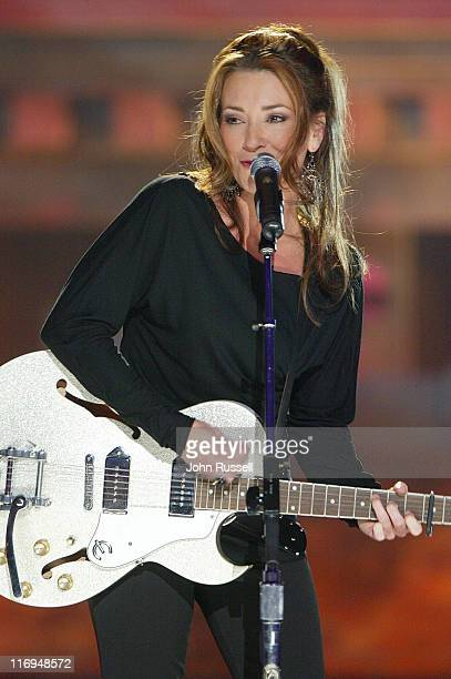 Jennifer Hicks performs Blue Sky during the Nashville Star live show at the Acuff Theatre in Nashville TN Saturday April 10 2004