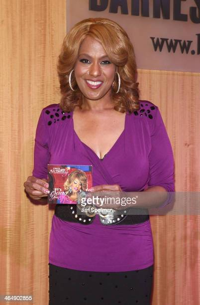 Jennifer Holliday attends her CD signing at Barnes Noble 86th Lexington on January 24 2014 in New York City