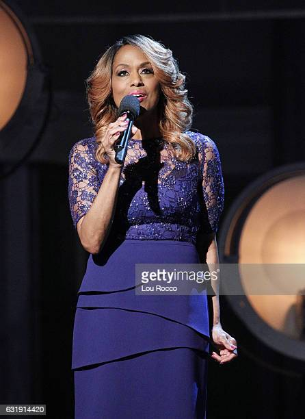 THE VIEW Jennifer Holliday discusses her decision to not perform for Donald Trump's inauguration today Tuesday January 17 2017 on Walt Disney...