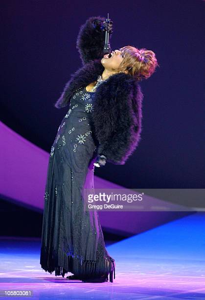 Jennifer Holliday during 2003 Macy's and American Express Passport Gala Show at Barker Hanger in Santa Monica California United States