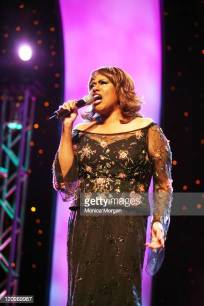 Jennifer Holliday during Jennifer Holiday performs at the 21st National Black Engineer of The Year Awards at Baltimore Convention Center in Baltimore...