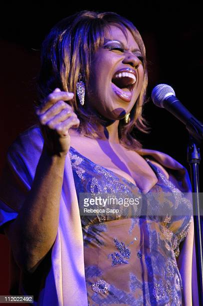 Jennifer Holliday during LA Gay and Lesbian Center's 33rd Anniversary Gala at The Westin Century Plaza Hotel in Century City California United States