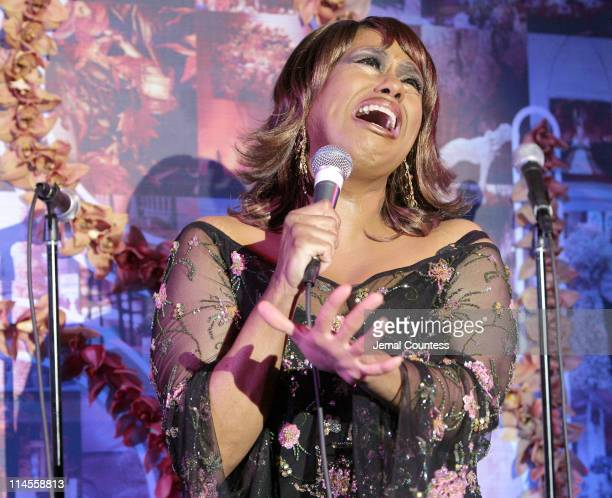 Jennifer Holliday during Preston Bailey Host Launch Party for His New Book Inspirations with Special Performance by Jennifer Holliday January 31 2007...