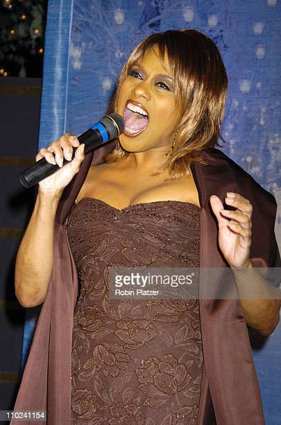 Jennifer Holliday during Preston Bailey's Fantasy Weddings Book Party at The Rainbow Room in New York City New York United States