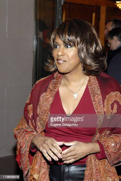 Jennifer Holliday during Spring Awakening Broadway Opening Night Arrivals at The Eugene O'Neill Theatre in New York City New York United States