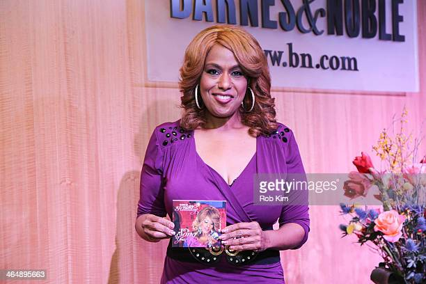 Jennifer Holliday performs at Barnes Noble 86th Lexington on January 24 2014 in New York City