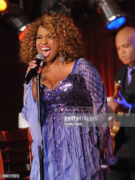 Jennifer Holliday performs at BB King on September 26 2014 in New York City