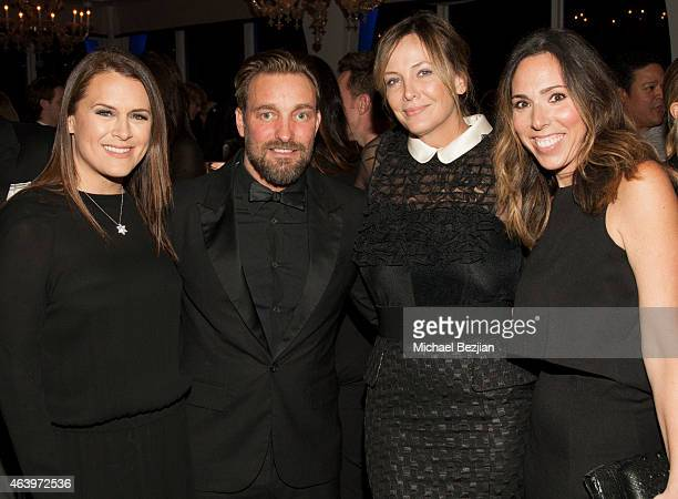 Jennifer Howell Brian Bowen Smith Shea Bowen Smith and Allison Beck attend Geraldo Jewelry Presents Icons Of The Awards on February 19 2015 in Los...