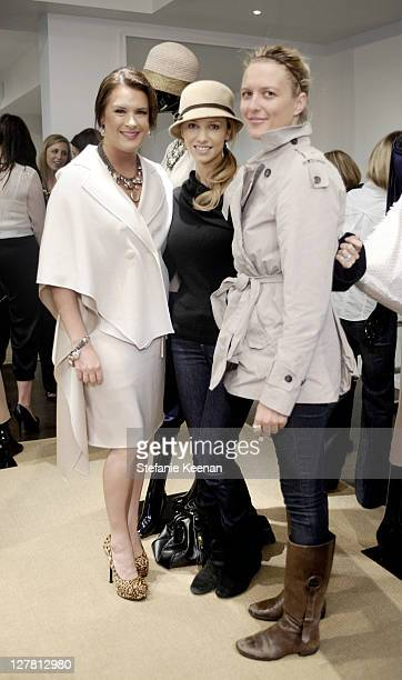 Jennifer Howell Marnette Patterson and Anette Patrickson attend [Concept] St John Art Of Elysium Event on March 23 2011 in West Hollywood California